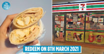 7-Eleven Is Giving Away 2,000 Free Breakfast Wraps With No Catch At 20 Stores Islandwide