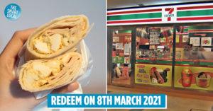 7-Eleven free breakfast wrap4