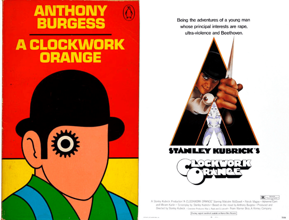 A Clockwork Orange Book Vs Movie