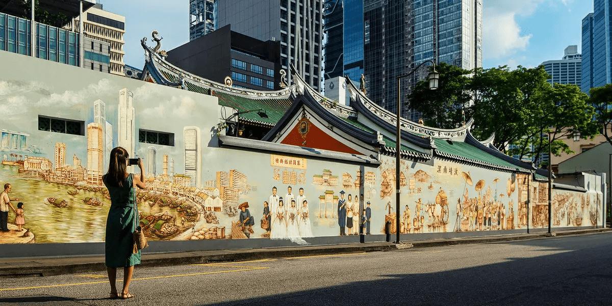 Telok Ayer Murals - AMOY Hotel Singapore