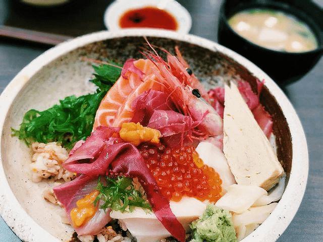 Premium Chirashi Don JIN Restaurant AMOY