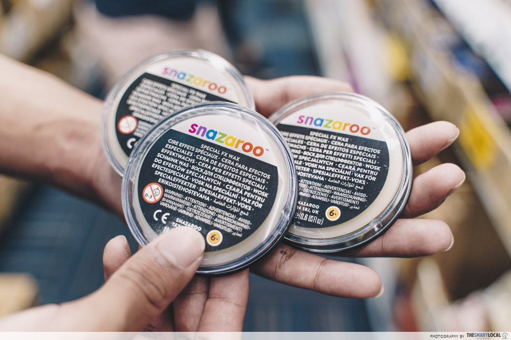 snazaroo special fx wax