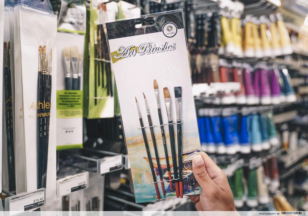 conda brush set