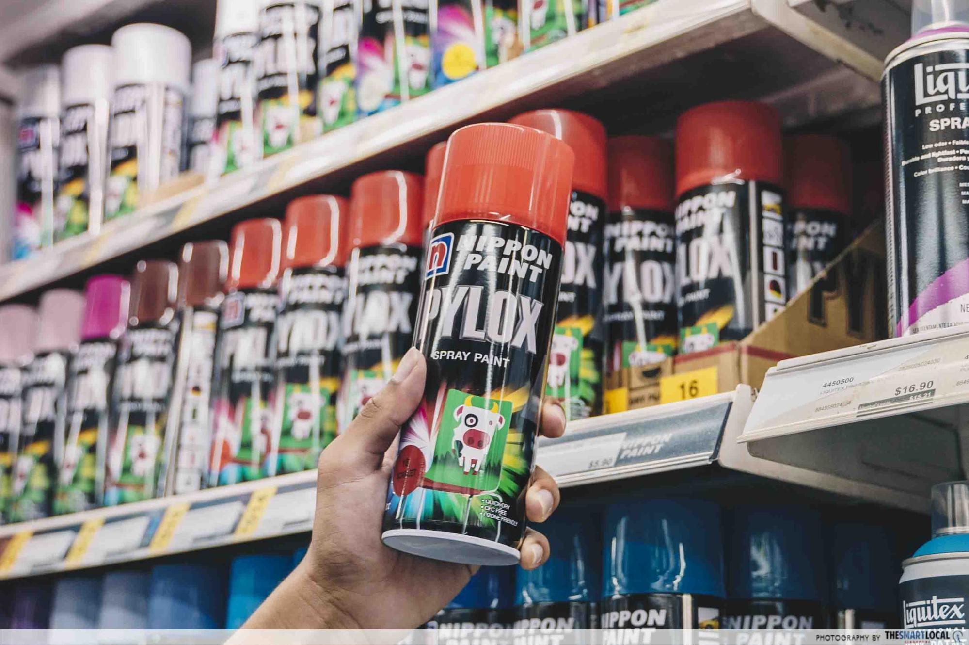 nippon pylox spray paint