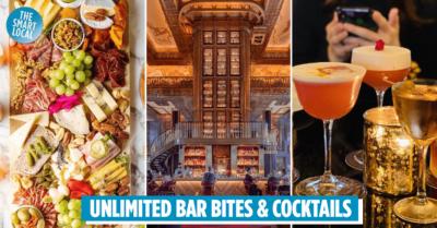 Atlas Bar free flow cocktails