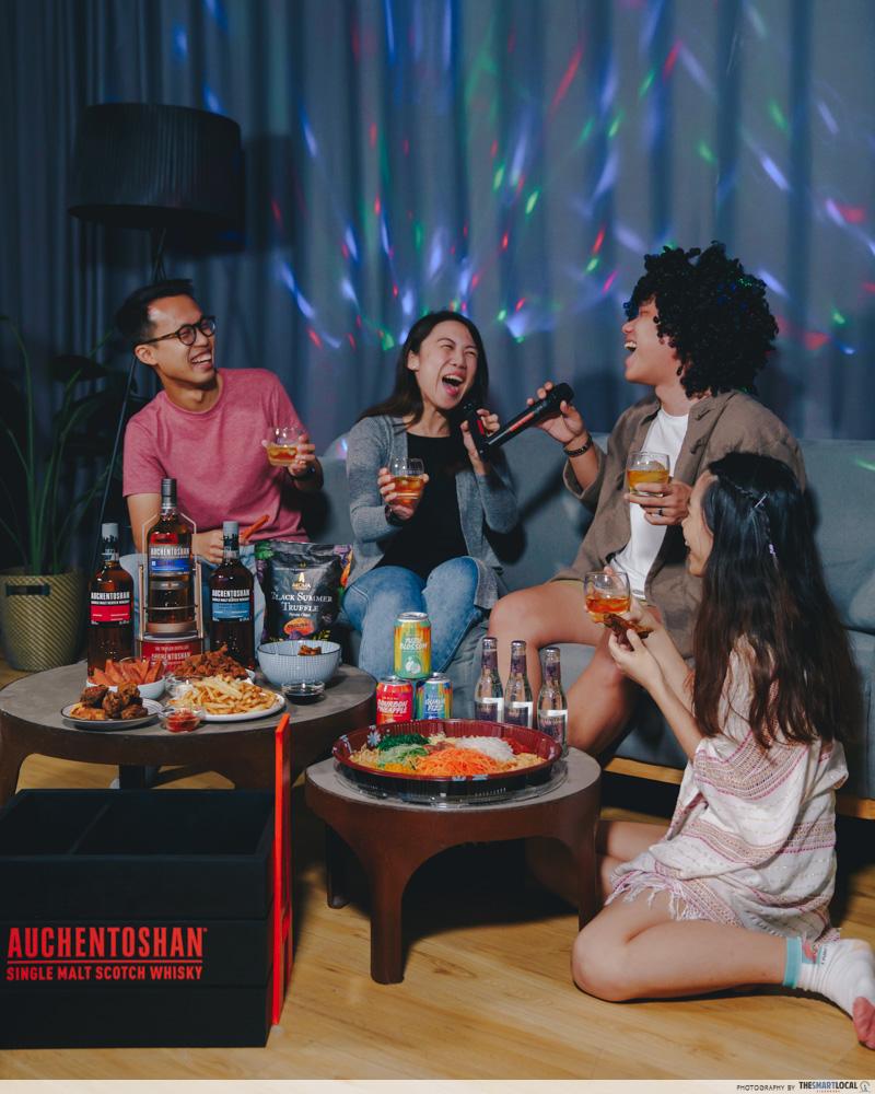 Auchentoshan Home KTV Kit rental
