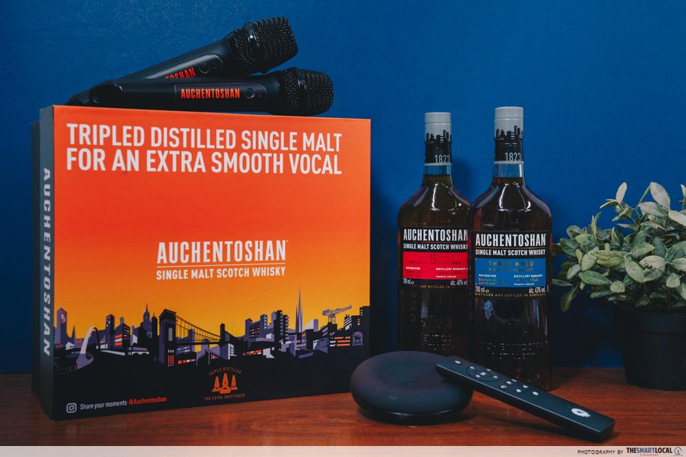Auchentoshan home ktv kit