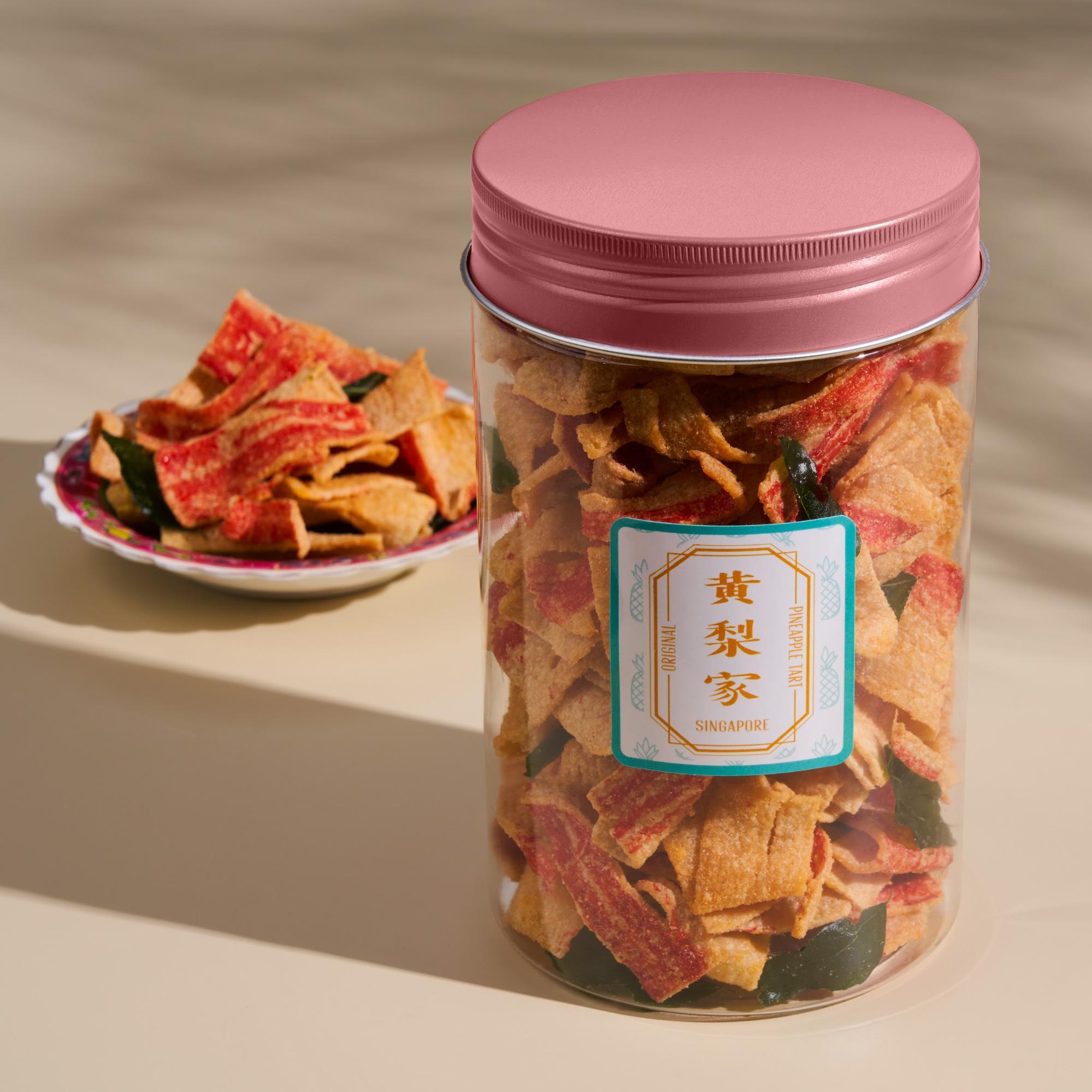 CNY snacks - crab stick crackers