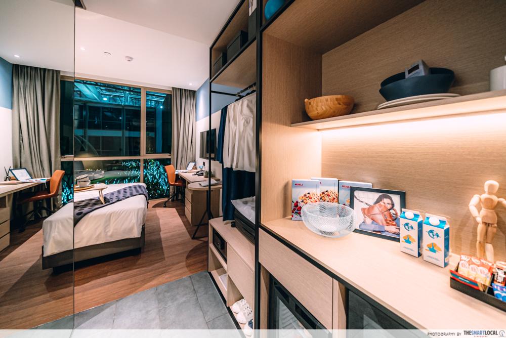 Modern rooms hotel