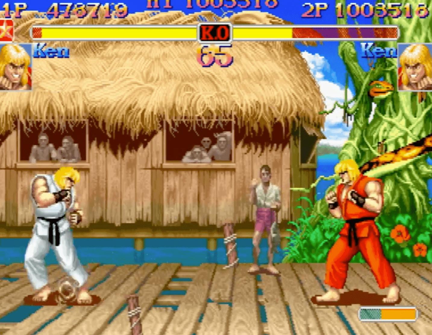 street fighter gameplay