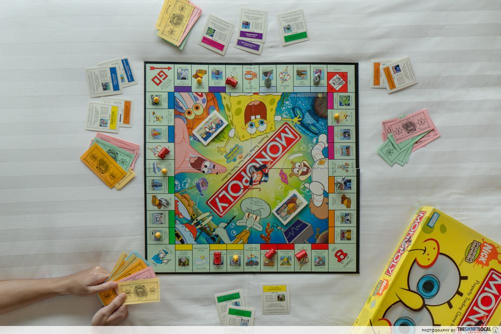 Dusit Thani Laguna Singapore - spongebob monopoly