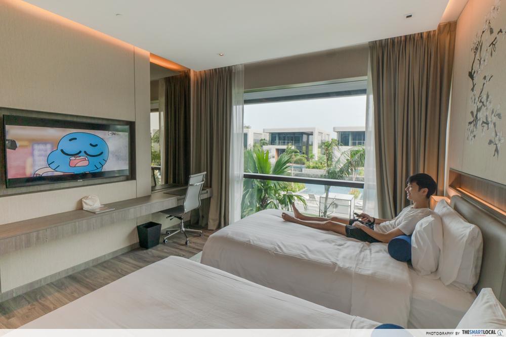 Dusit Thani Laguna Singapore - deluxe room