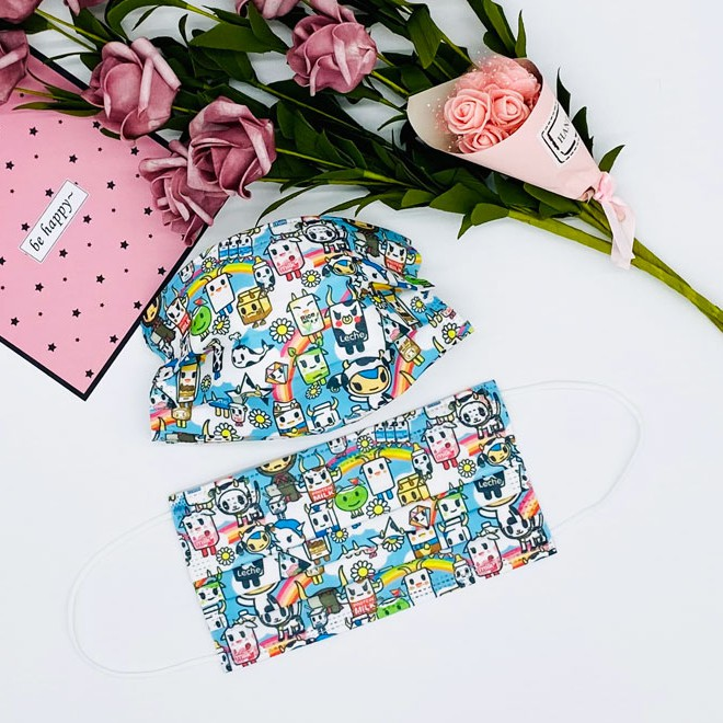 tokidoki disposable masks from from EZ mama shop