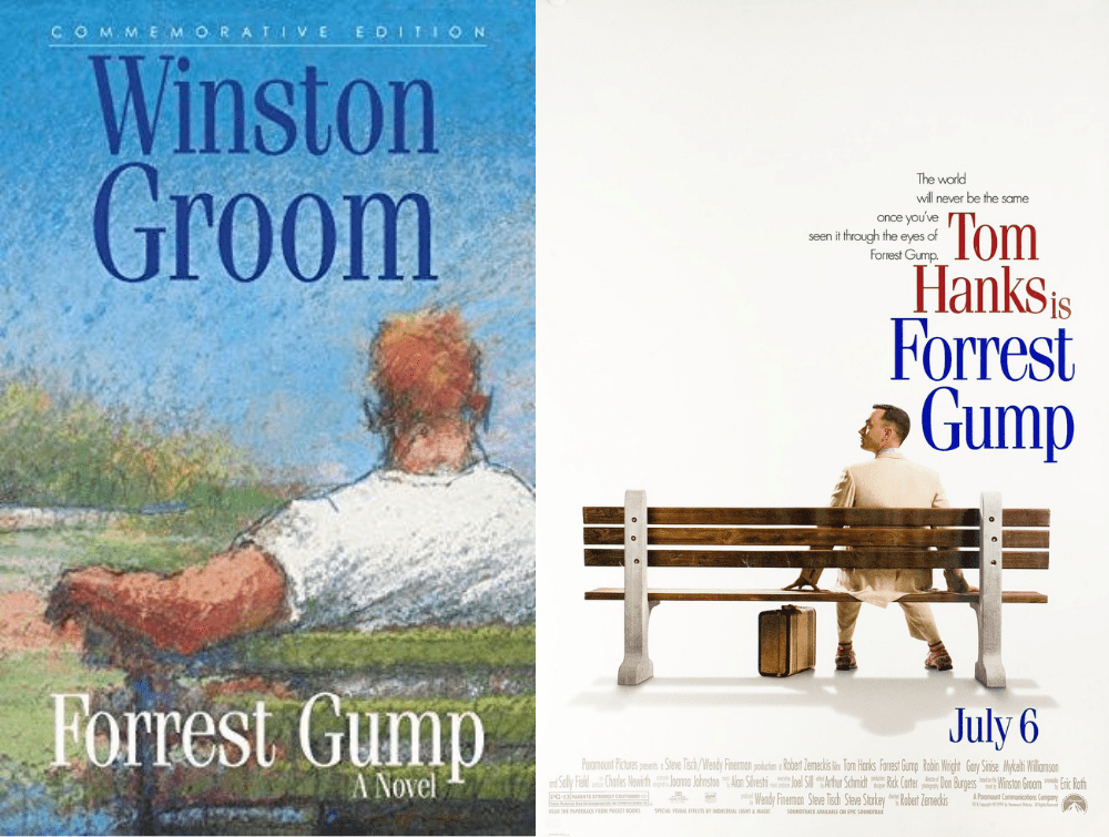 free ebooks - Forrest Gump Book vs Movie