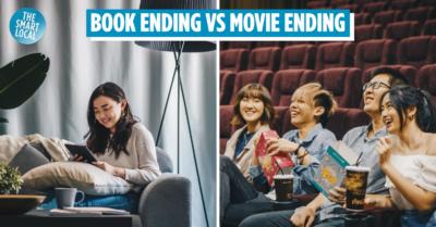 book ending vs movie ending