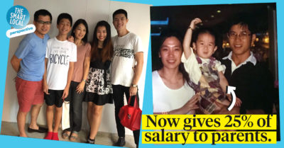 Giving Parents Salary in Singapore