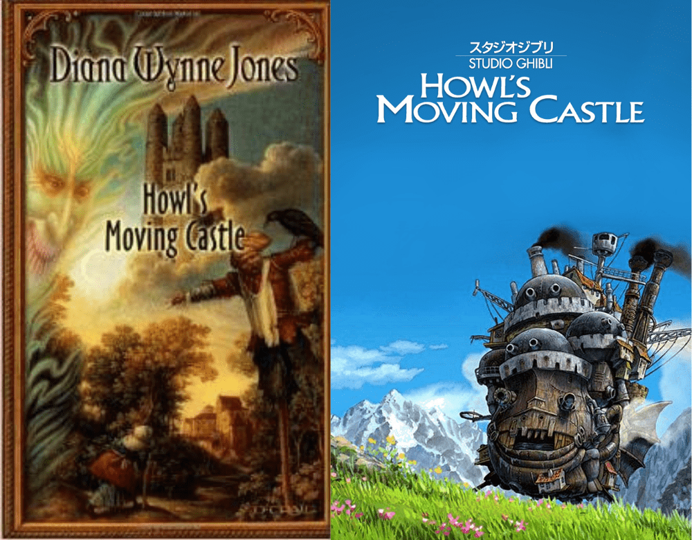 Howl's Moving Castle books vs movie