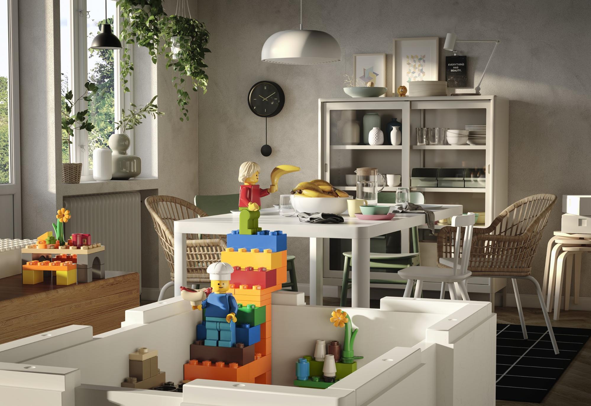 IKEA LEGO BYGGLEK