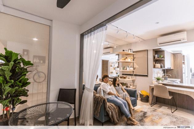 Interior Designer couple in home