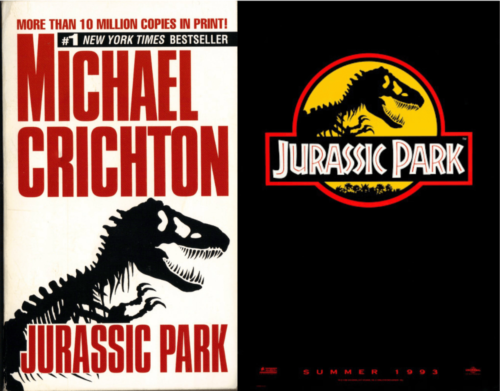 Jurassic Park Book vs movie