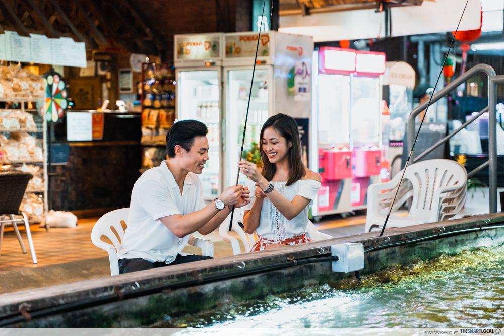 Prawning date at Hai Bin - late night date ideas