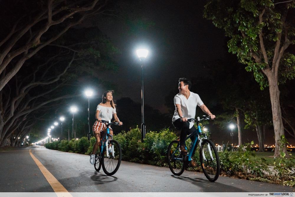 Night cycle - late night date idea