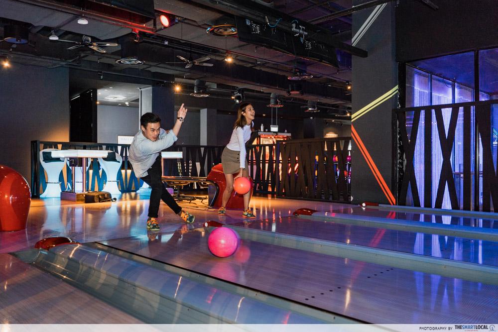K bowling club - late night date ideas
