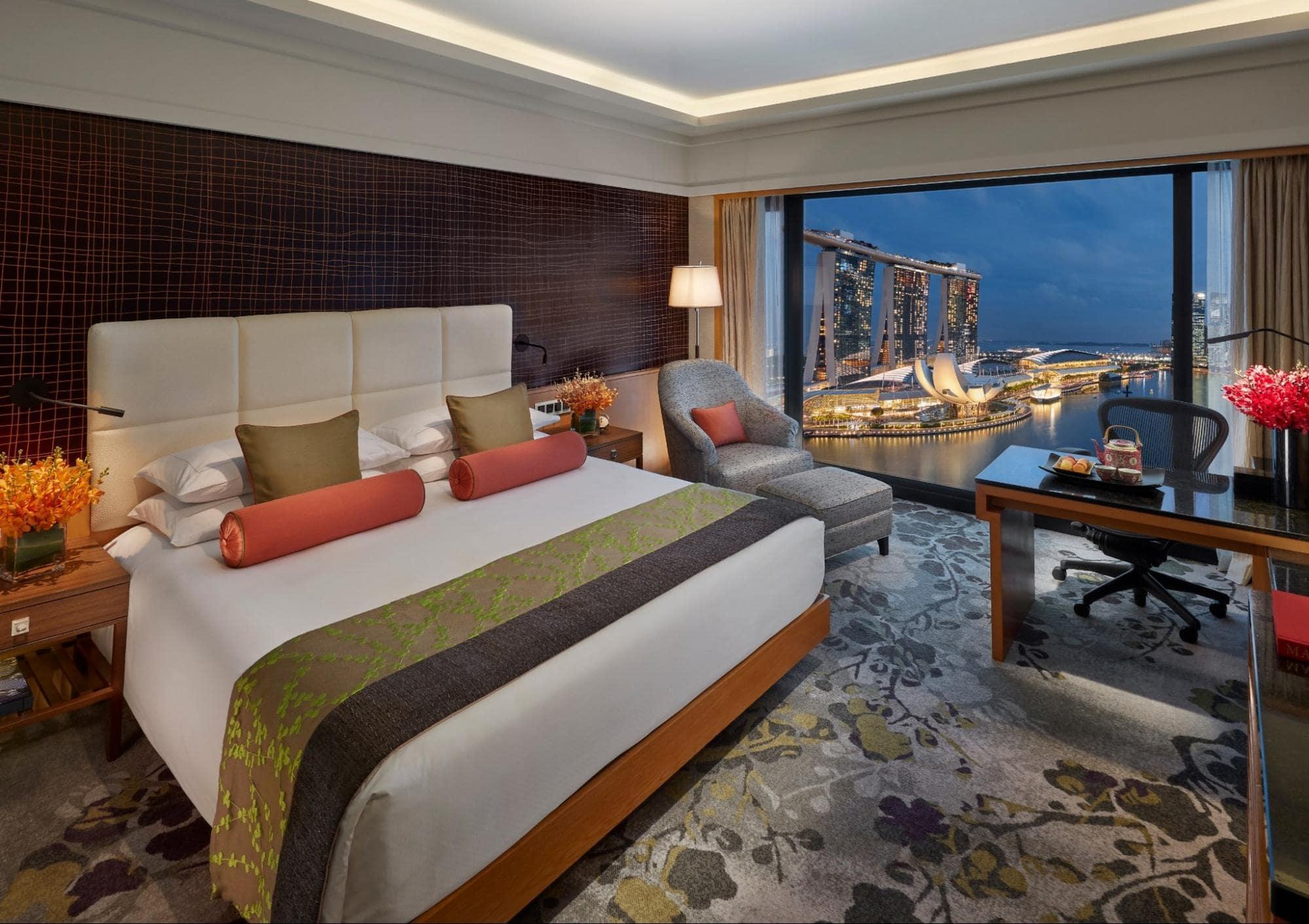 Mandarin Oriental Hotel Room