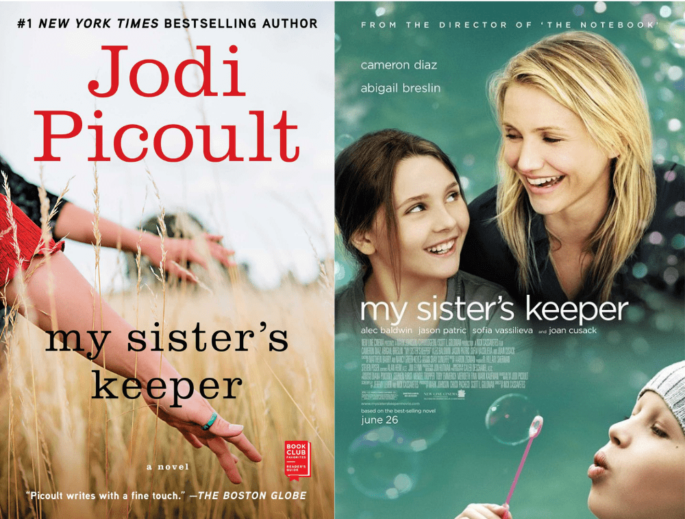 My Sister's Keeper Book vs Movie