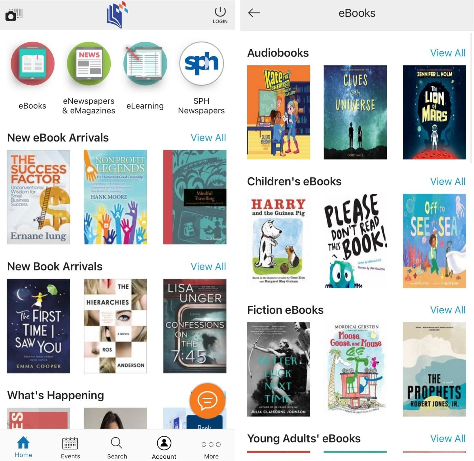 free ebooks - NLB Mobile App Screenshot