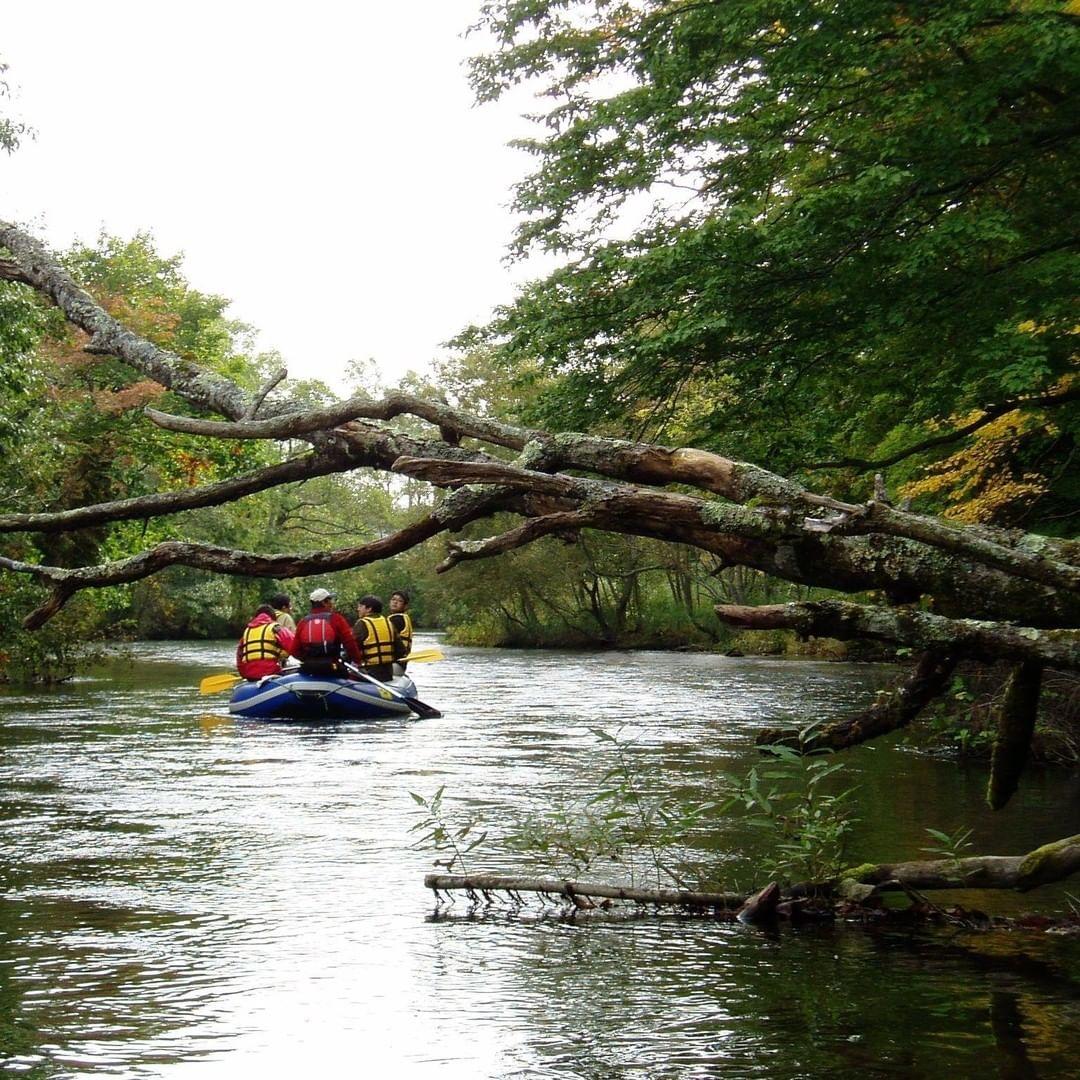 canoe tour on the kushiro river