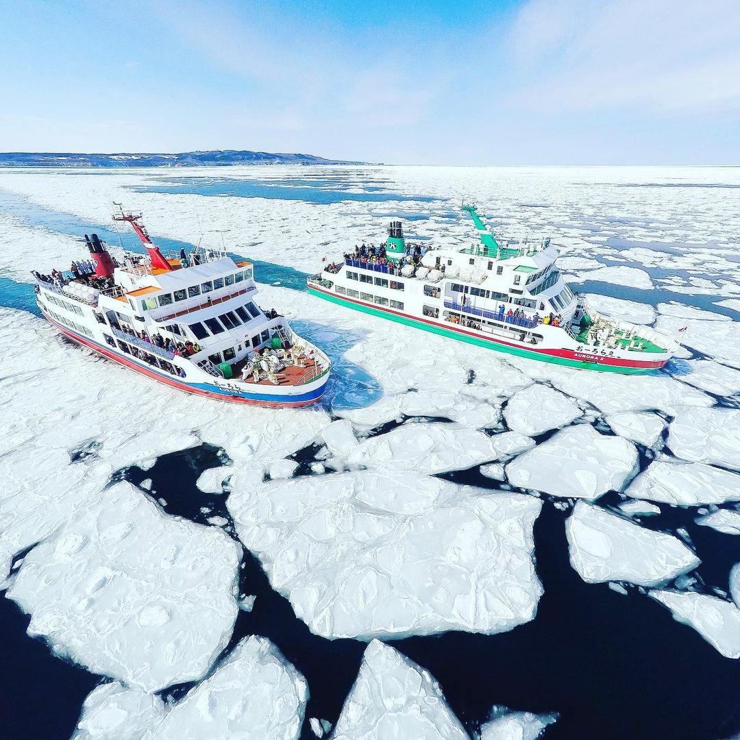abashiri drift ice sightseeing cruise