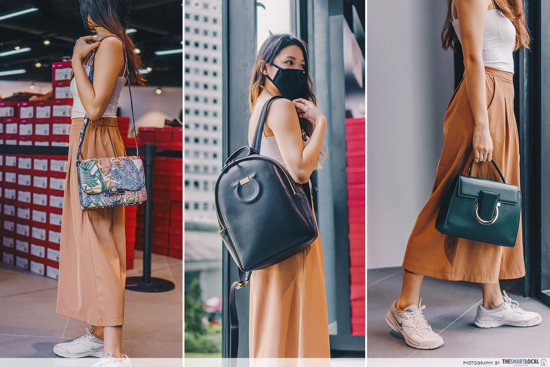 Botanical Print Joanne Bag, Travel Backpack and Thalia Top Handle Bag - OnTheList Salvatore Ferragamo sale 2021