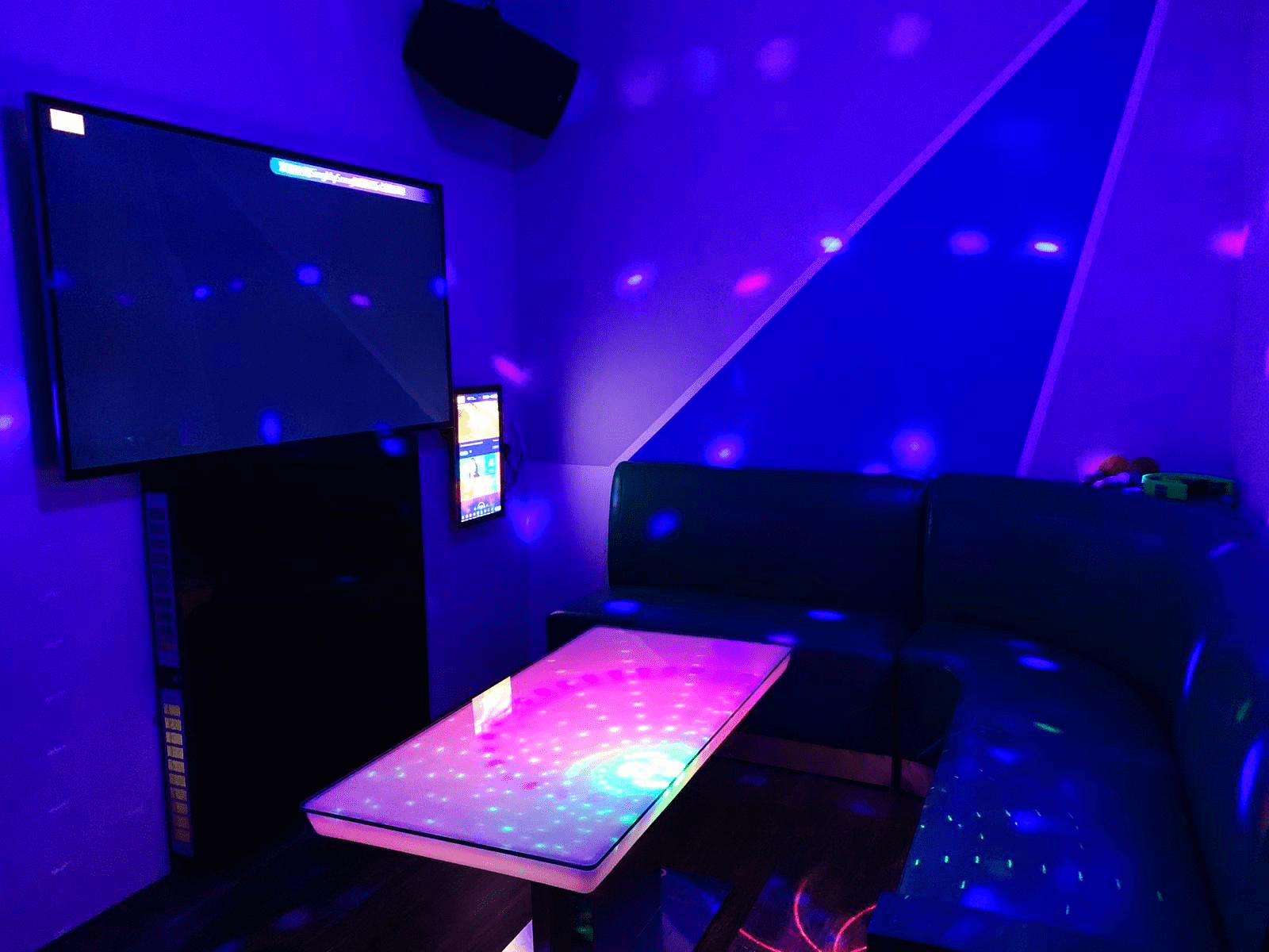Private rooms at Sing My Song Karaoke