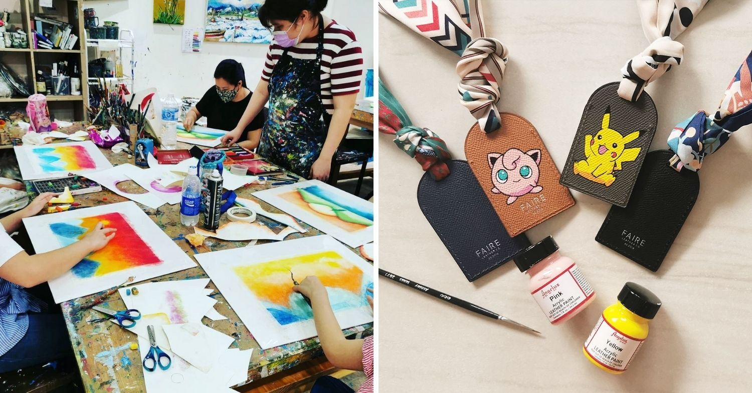 Our Art Studio - Nagomi art and leather painting