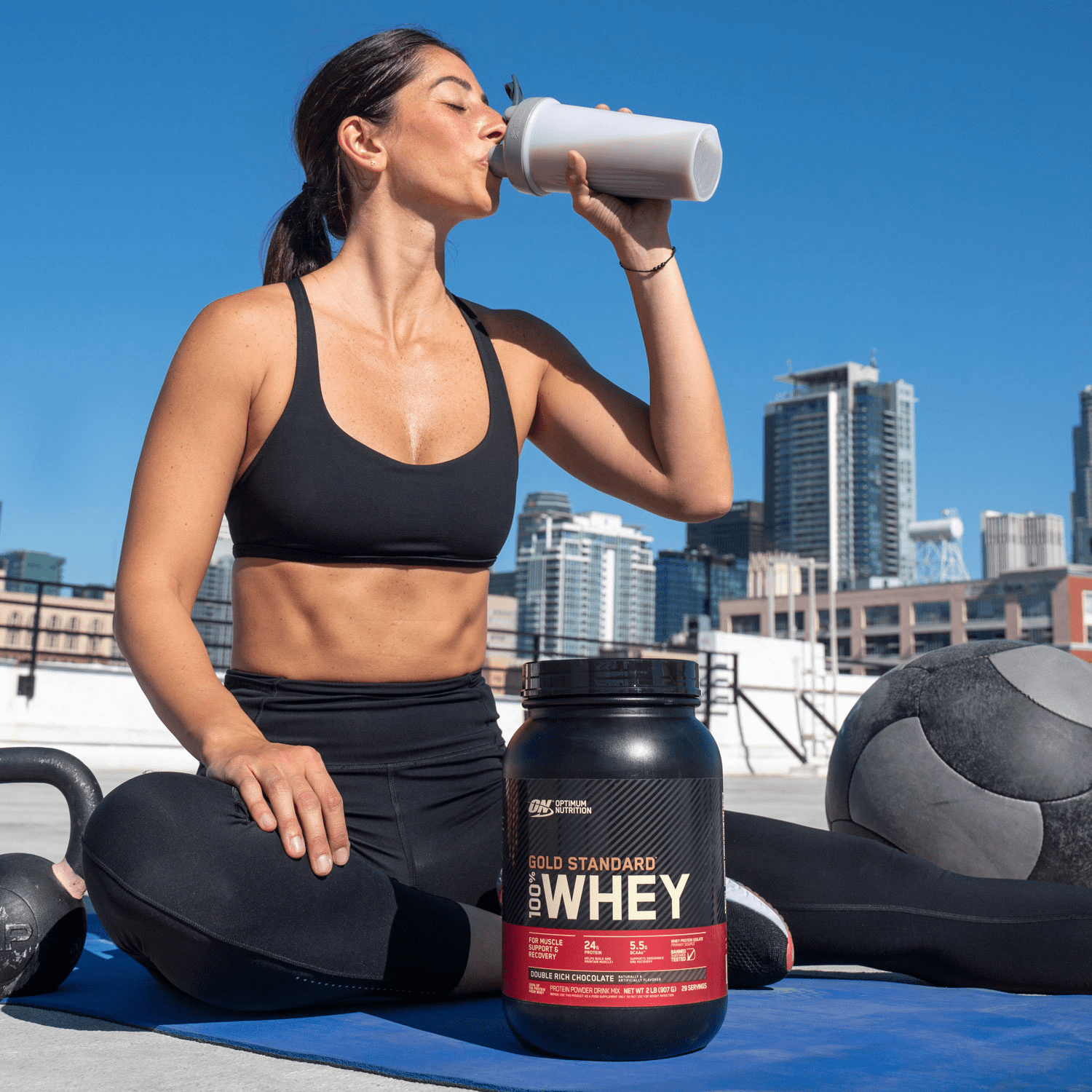 the optimum nutrition gold standard is radily available at gnc singapore