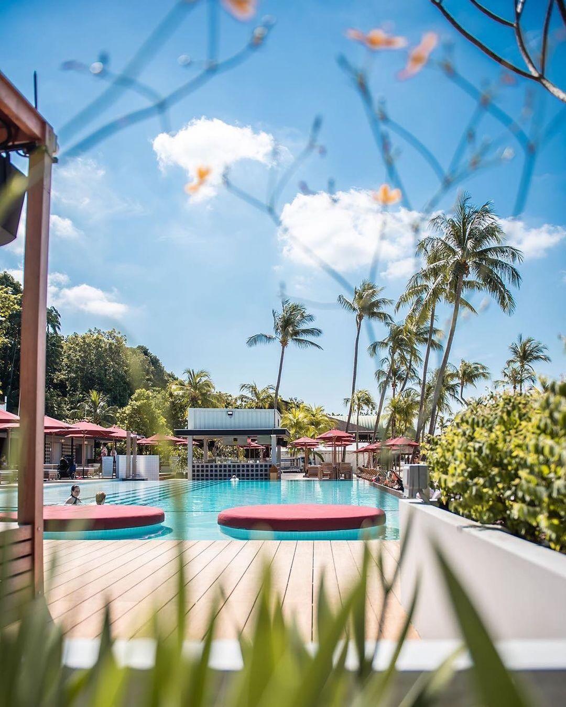 Rumours Beach Club - infinity pool