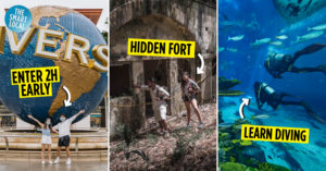 Sentosa attraction tips