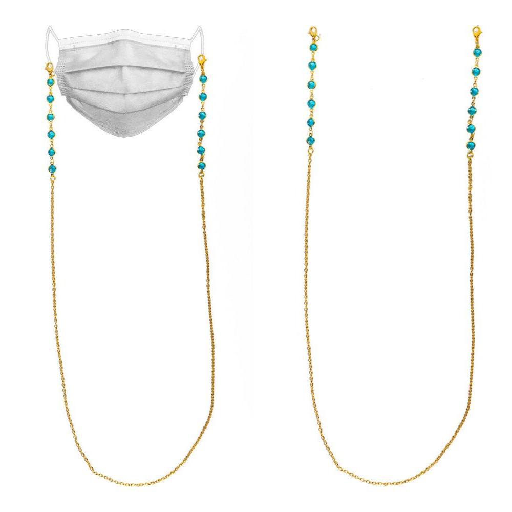 Sephora Valentine's Day Sale - Gold face mask strap