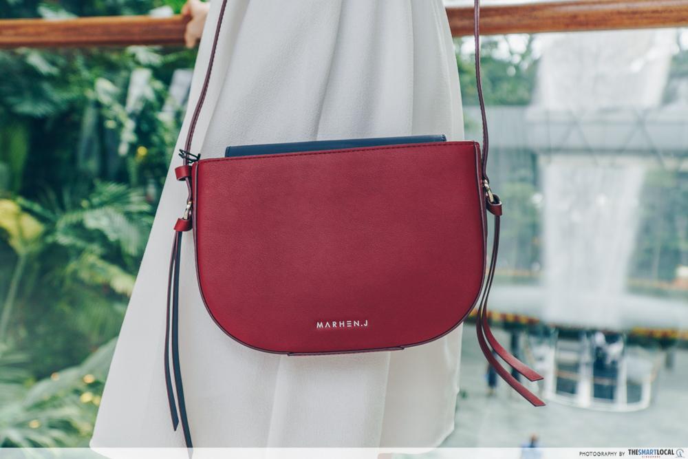 Marhen.J Sandy Burgundy Bag
