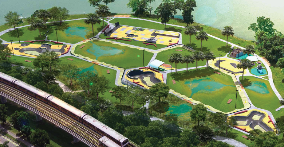 Jurong Lake Skatepark