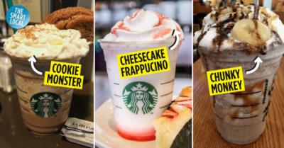 Starbucks Secret Recipe Singapore