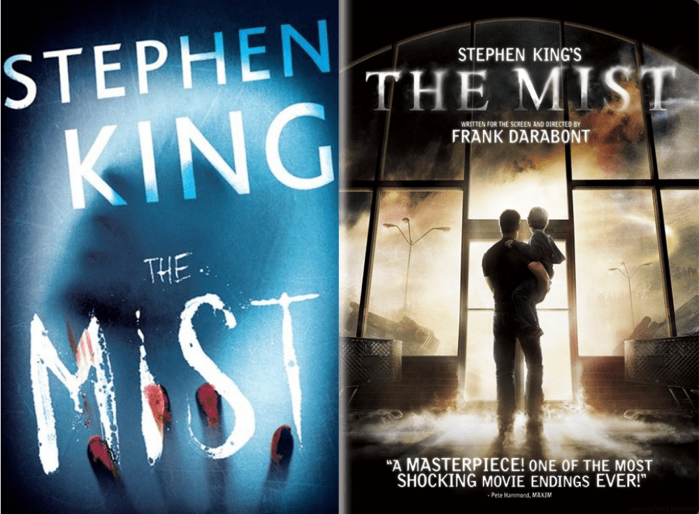 The Mist Book vs Movie