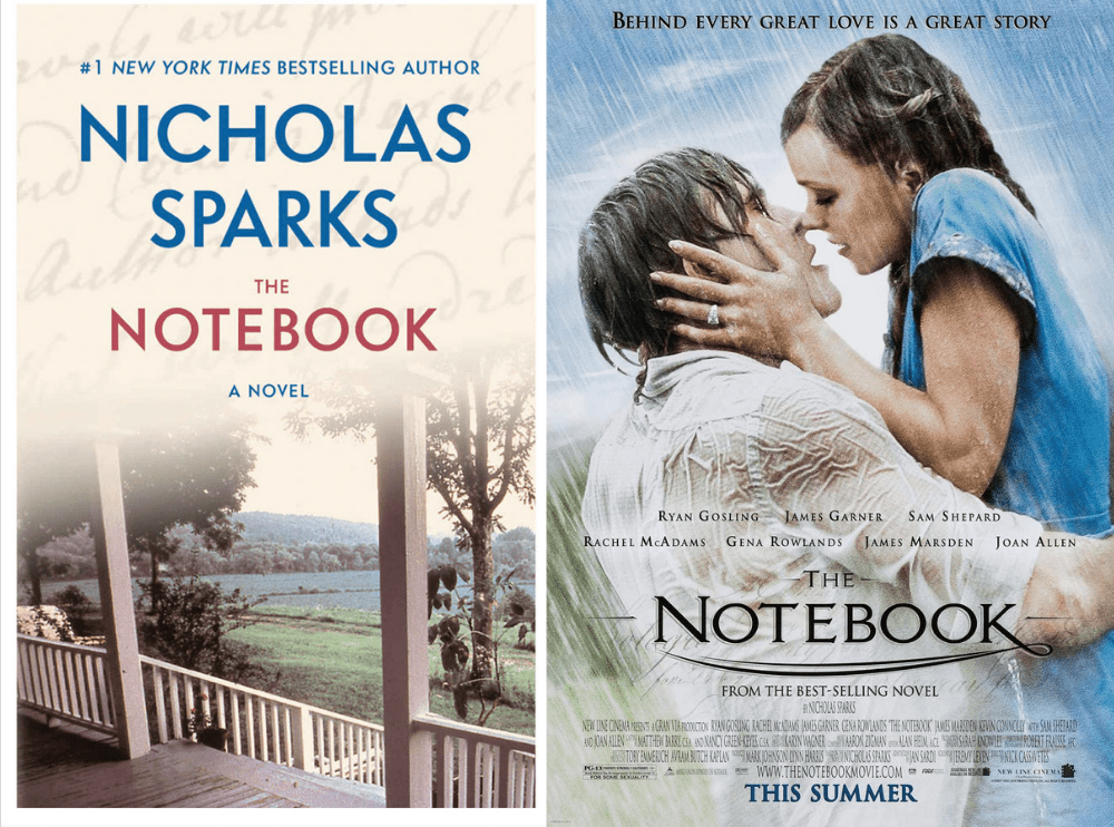 The Notebook Book vs Movie