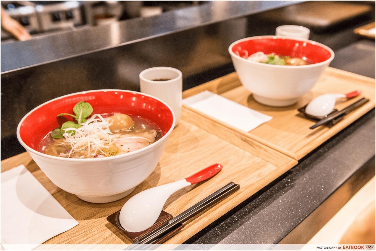 Tsuta Ramen Bowls