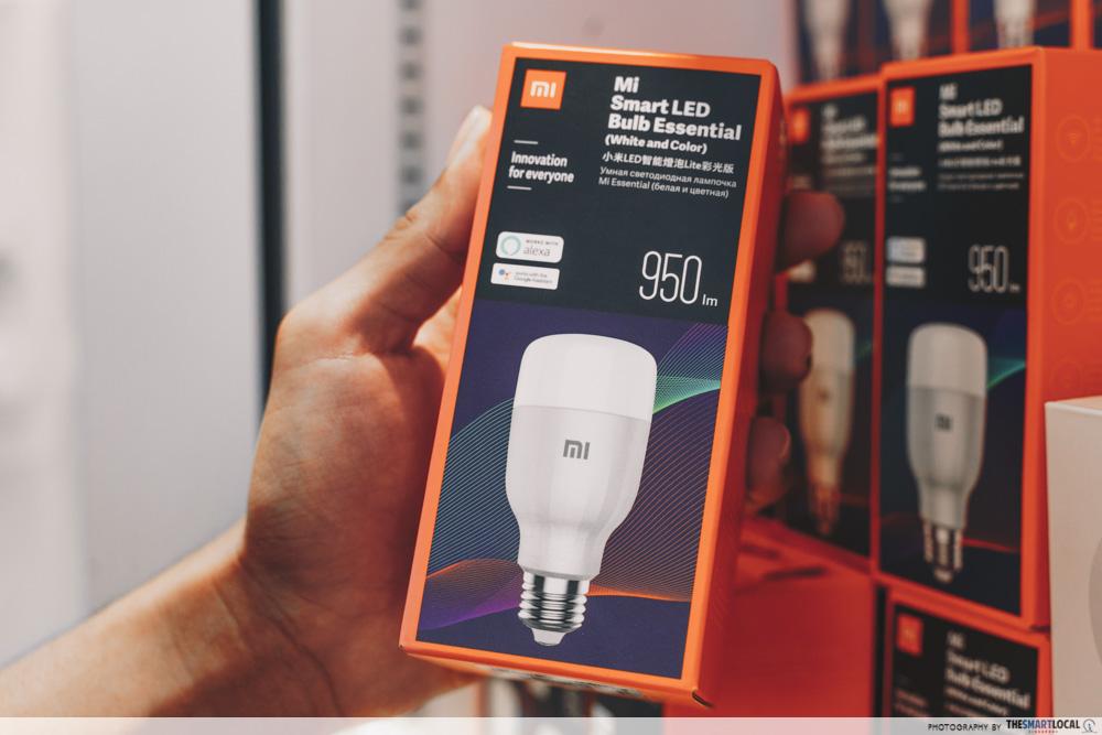 Xiaomi Store Singapore - mi led smart bulb essential