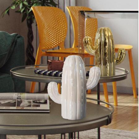 home decor products - cactus piggy bank