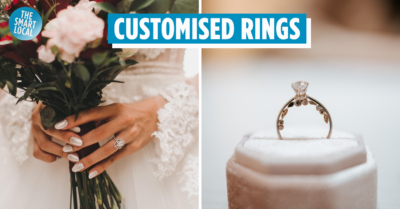 Where to buy engagement rings in SG - customised engagement rings