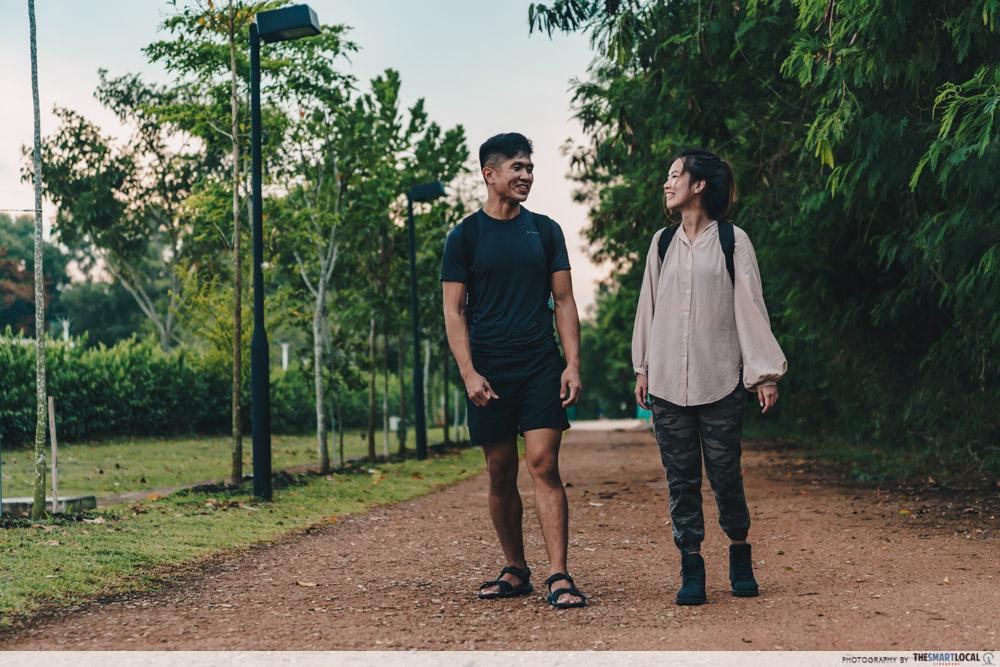 walking singapore
