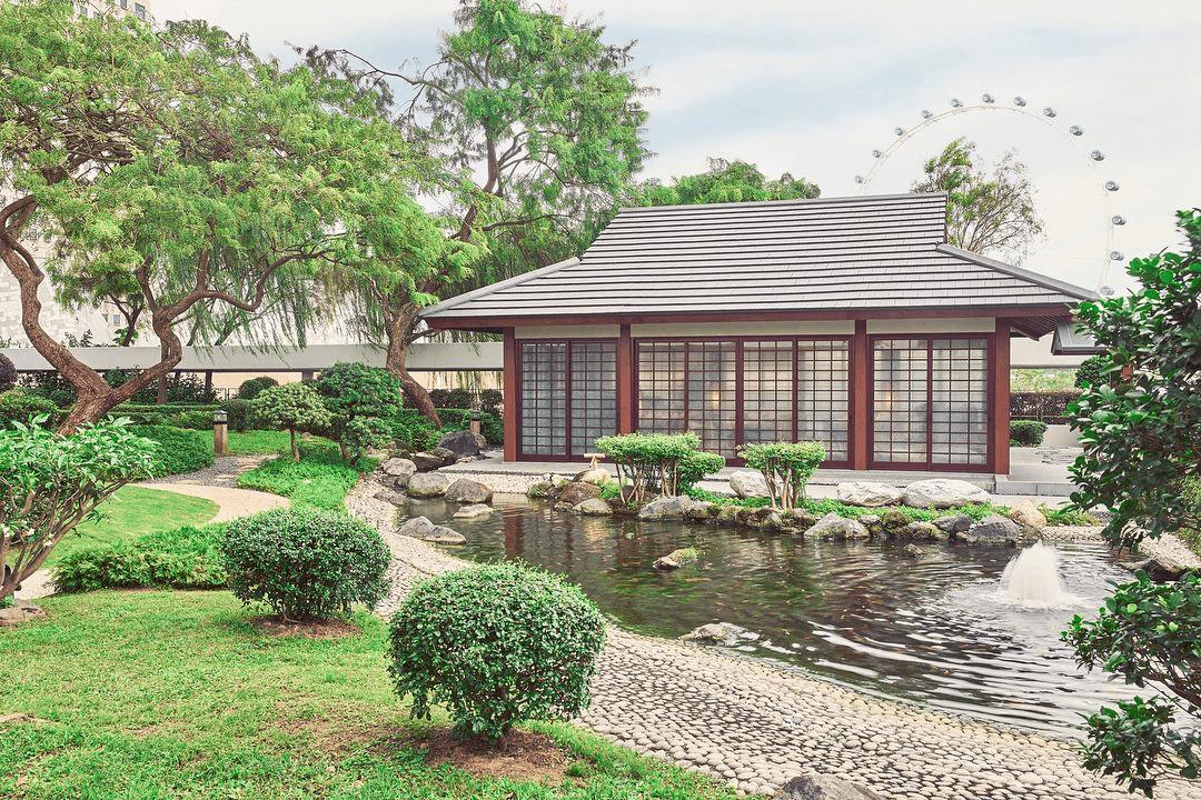 Keyaki Garden pavilion - hidden gardens singapore